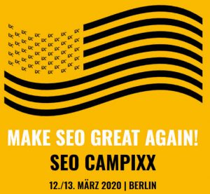 SEO CAMPIXX 2020 Berlin